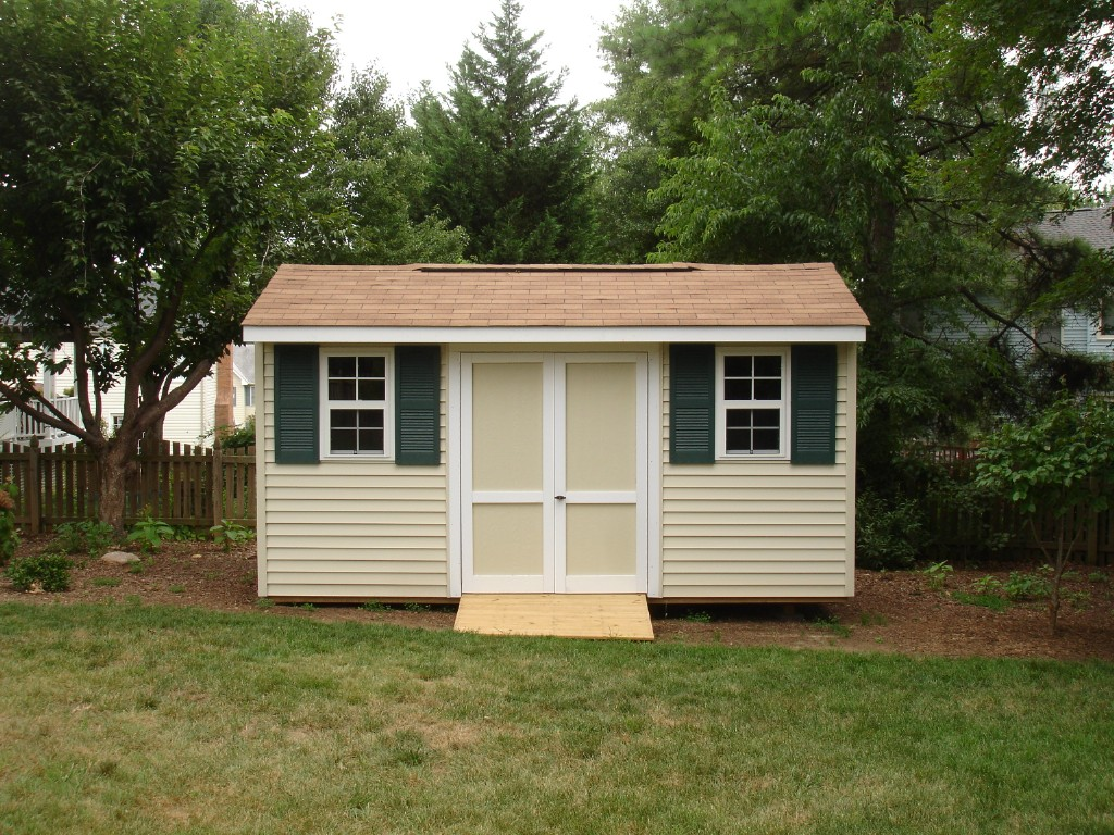 Affordable Sheds Building A Shed Onsite Affordable
