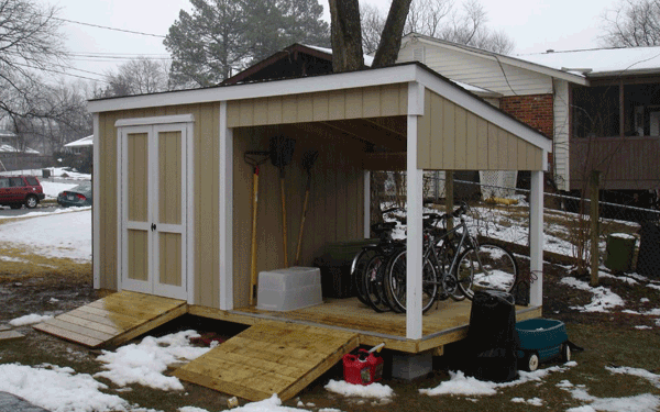 Lean To Roof And Under Deck Sheds Affordable Sheds Company